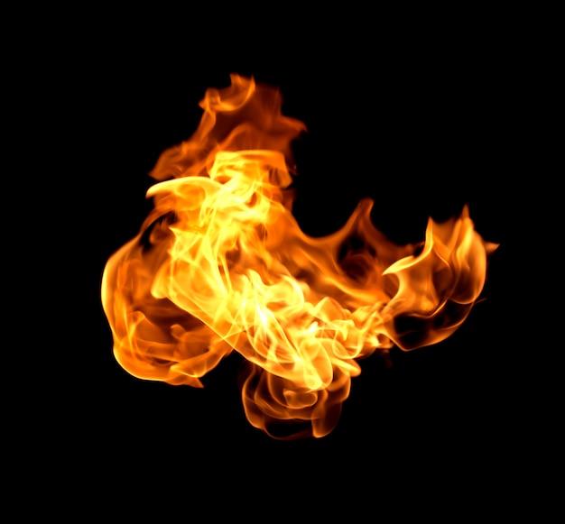 Flamme chaleur feu abstrait