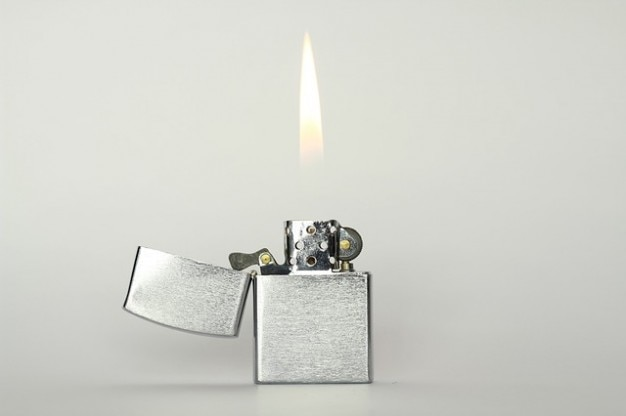 Flamme du briquet feu firefox