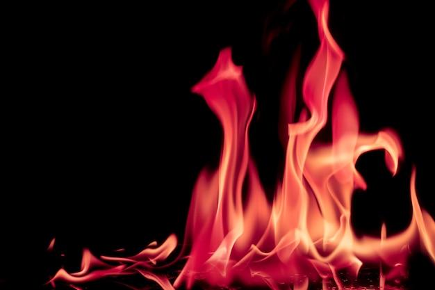Flamme de feu chimique abstrait rose