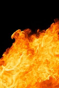 Flamme de feu flamboyant