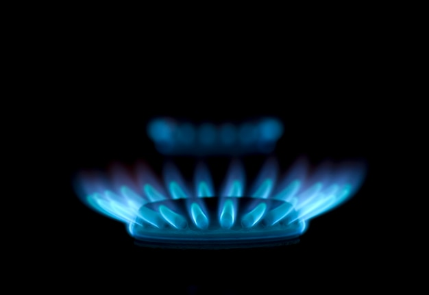 Flammes de gaz