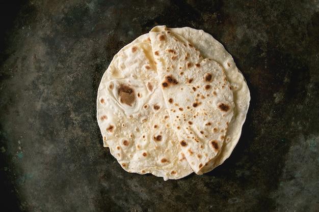 Flapjack de pain plat fait maison