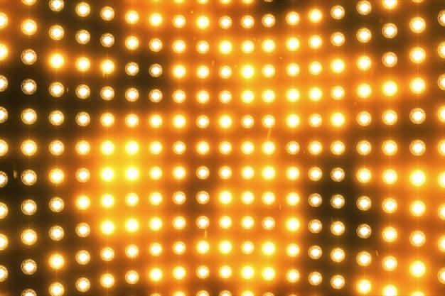 Flash disco mur de lumières