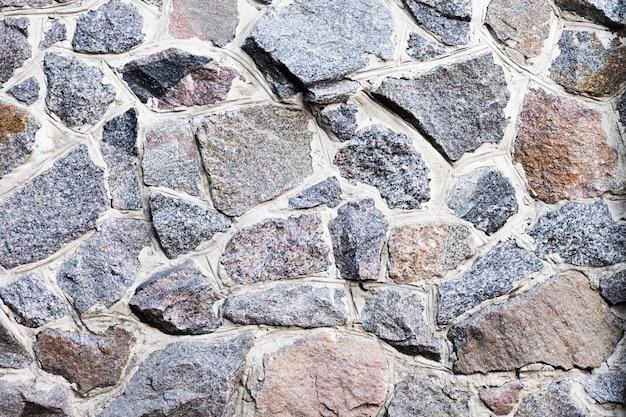 Flat poser une texture transparente de pierres