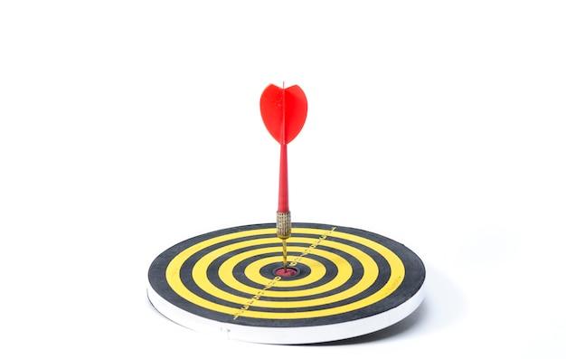 Flèches au centre de la cible
