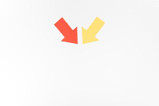 Flèches indiquant la direction