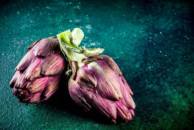 Fleur d'artichaut bio fraîche