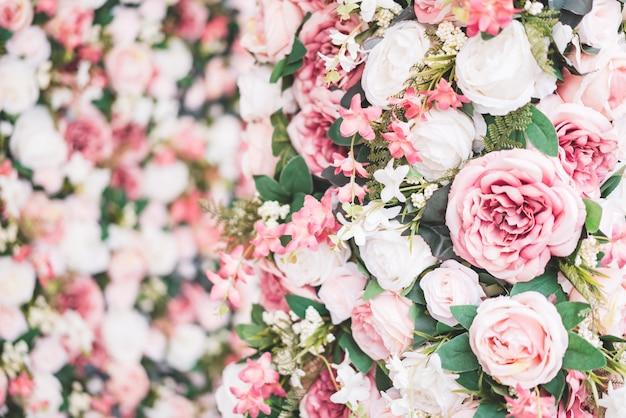 Fleur de beau bouquet avec espace de copie pour le fond