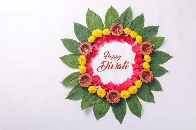 Fleur de calendula pour le festival de diwali