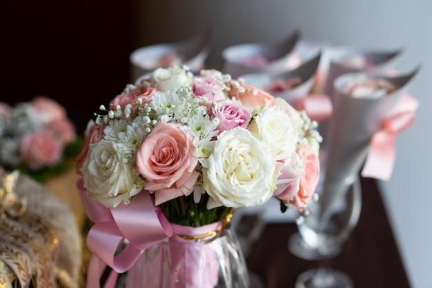 Fleur en fête de mariage