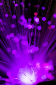 Fleur floue abstraite en violet