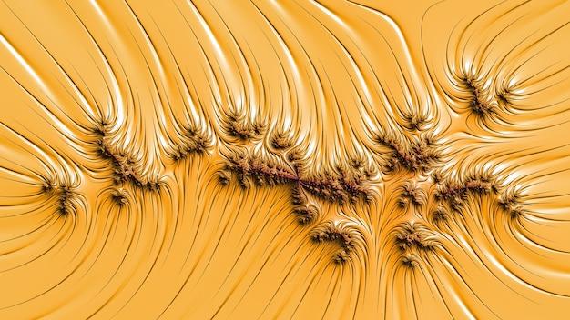 Fleur de motif de fond fractal étonnant de couleur, différentes formes et couleurs, éléments graphiques pour la conception et la décoration. rendu 3d