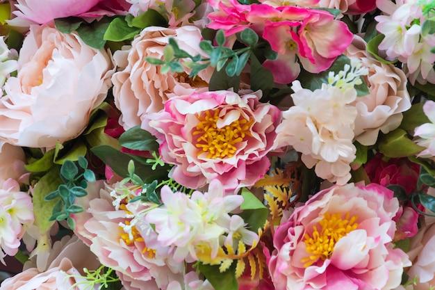 Fleuriste en couleurs fraîches