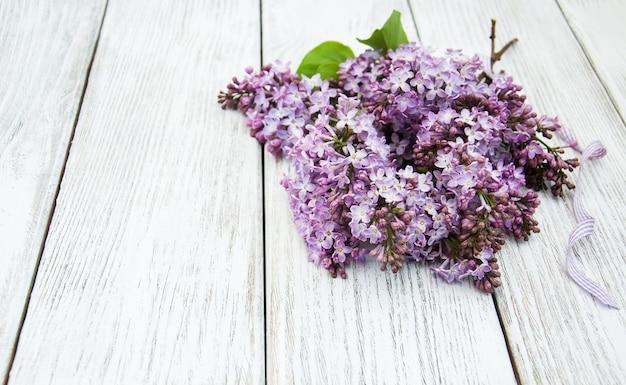 Fleurs lilas