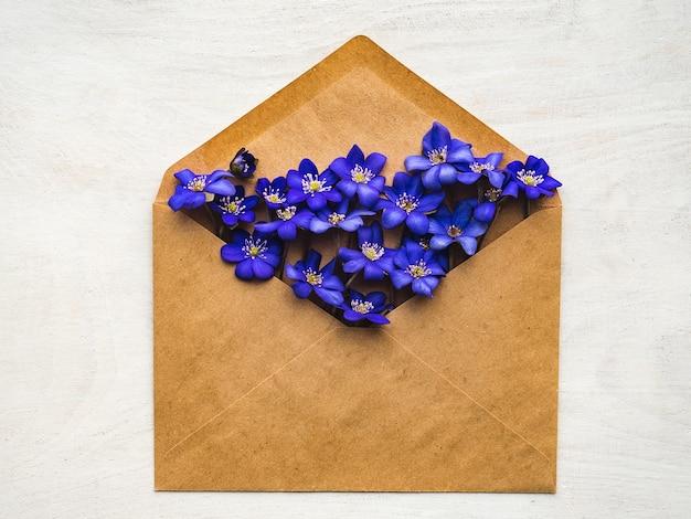 Fleurs lumineuses et une place pour l'inscription.