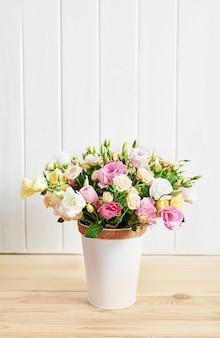 Des fleurs pour la journée de la femme.