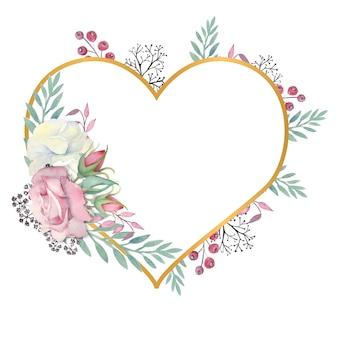 Fleurs roses blanches et roses