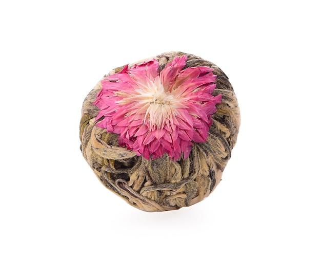 Fleurs de thé isolés