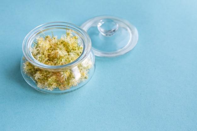 Fleurs de tilleul jaune