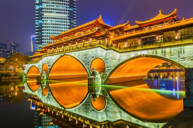 Fleuve jaune traditionnel des lumières de voyage