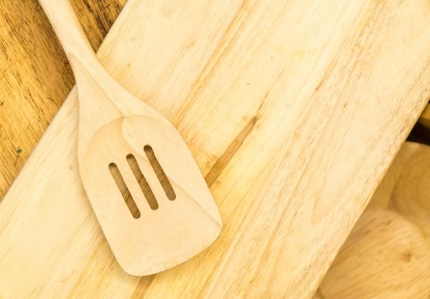Flipper ou tournevis en bois