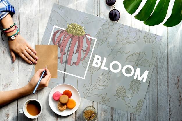 Floraison floral arts et artisanat nature