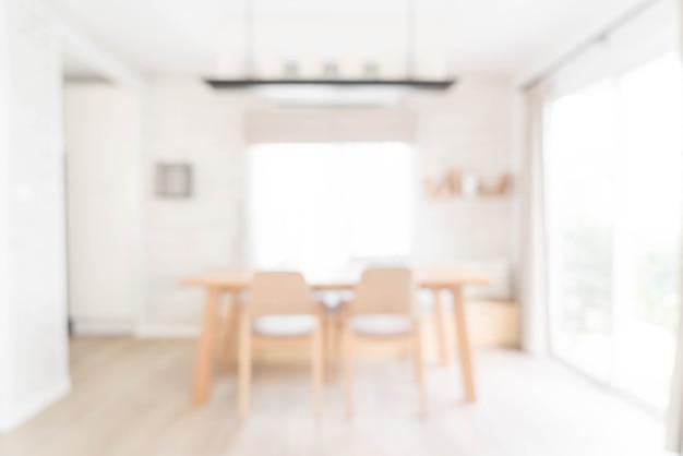 Flou abstrait dans le salon