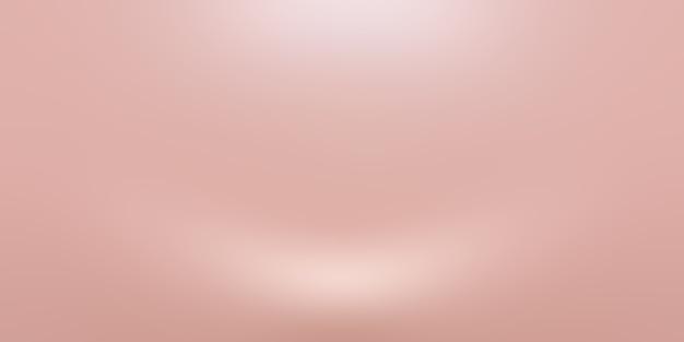 Flou abstrait de pastel beau ciel de couleur rose pêche fond ton chaud pour la conception comme bannière, diaporama ou autres