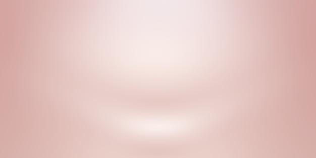 Flou abstrait de pastel beau ciel de couleur rose pêche fond de tons chauds pour la conception comme bannière, diaporama ou autres.
