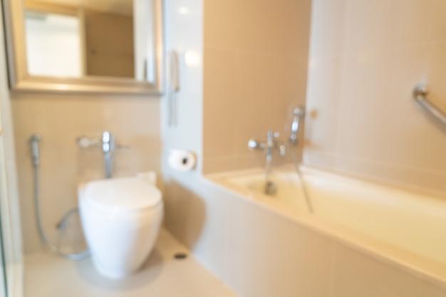 Flou abstrait salle de bain ou toilettes pour le fond