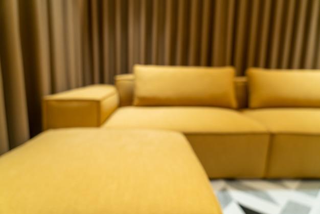 Flou abstrait salon moderne et luxueux pour le fond