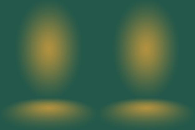 Flou abstrait studio dégradé vert vide bien utilisé comme arrière-planmodèle de site webcadrerapport d'activité
