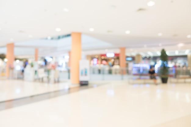 Flou centre commercial