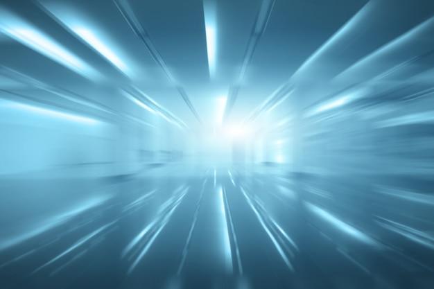 Flou de l'espace vide (mur vide dans une pièce bien éclairée)