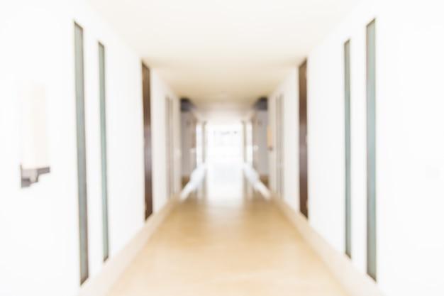 Flou fond de complexe hôtelier