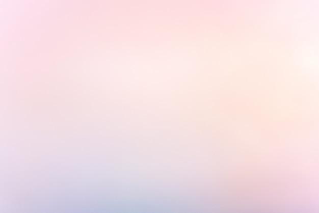 Flou fond de couleur pastel