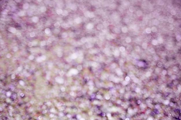Flou fond violet abstrait cercles de bokeh violet