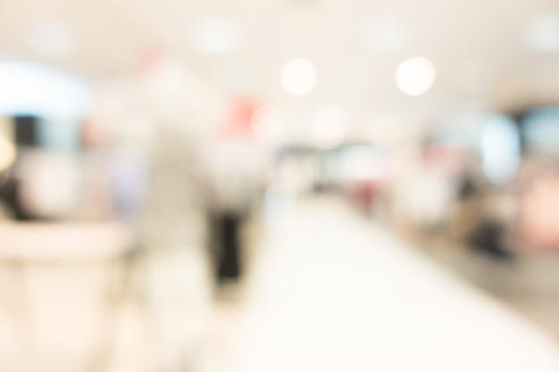 Flou intérieur de l'hôpital et de la clinique