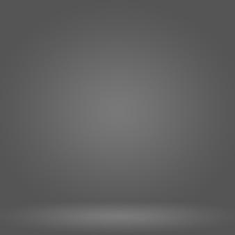 Flou De Luxe Abstrait Dégradé De Couleur Gris, Utilisé Comme Mur De Studio D'arrière-plan Pour Afficher Vos Produits. Photo gratuit
