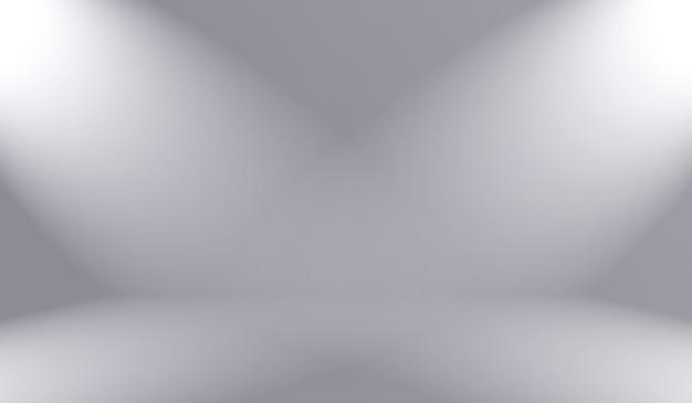 Flou de luxe abstrait dégradé de couleur gris, utilisé comme mur de studio d'arrière-plan pour afficher vos produits.