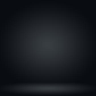 Flou De Luxe Abstrait Dégradé Gris Foncé Et Noir, Utilisé Comme Mur De Studio D'arrière-plan Pour Afficher Vos Produits. Photo gratuit