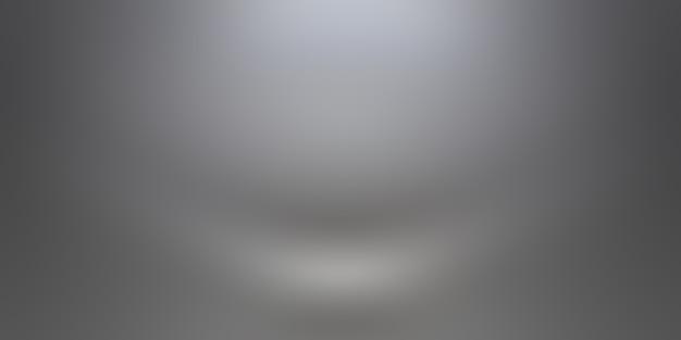 Flou de luxe abstrait dégradé gris foncé et noir, utilisé comme mur de studio d'arrière-plan pour afficher vos produits.