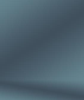 Flou de luxe abstrait dégradé gris foncé et noir utilisé comme mur de studio d'arrière-plan pour afficher votre pr...
