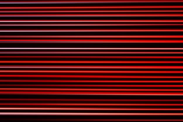 Flou de mouvement horizontal lignes rouges fond hd