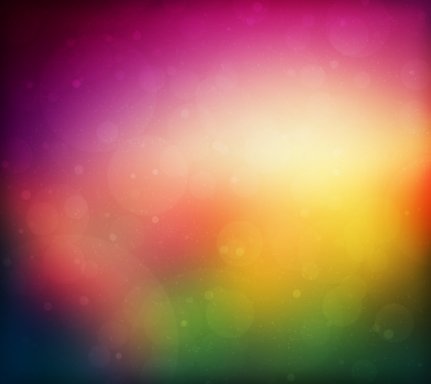 Flou texture colorée