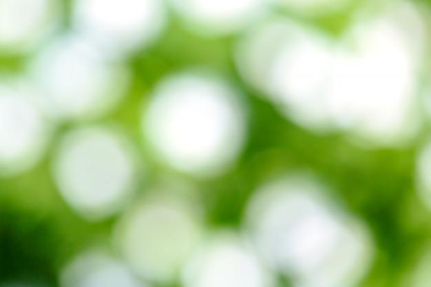 Flou vert frais