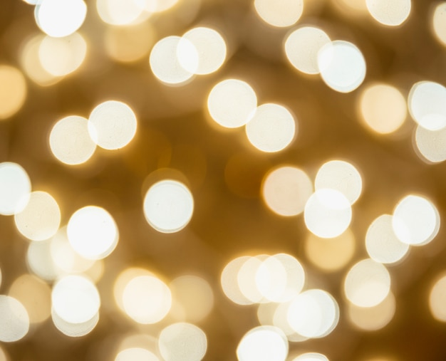 Flous de nombreuses lumières