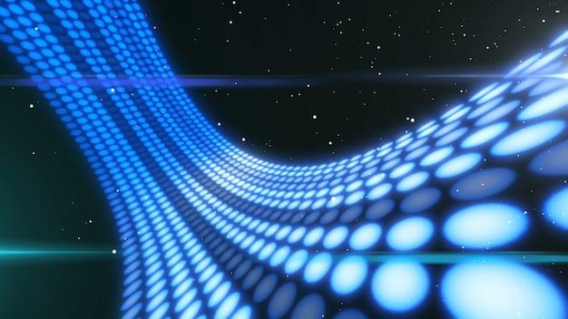 Flux et transfert de données visionnaires sur le cyberespace