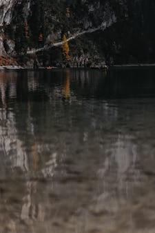 Focus sélectif du lac