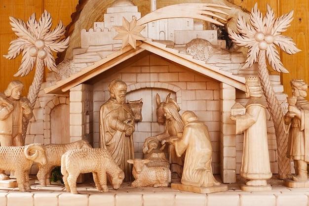 La foi bébé crèche de noël de bethlehem bible christ